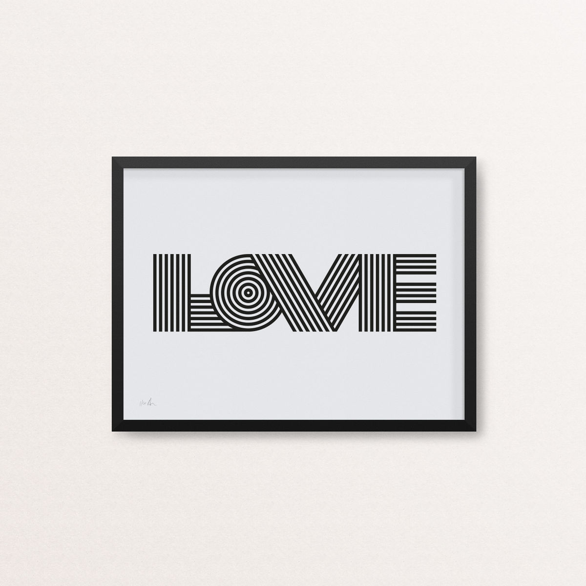 Love - Limited Edition Screen Print - product image