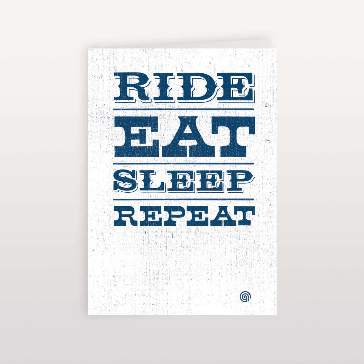 Ride Eat Sleep Repeat 120x170mm - product image