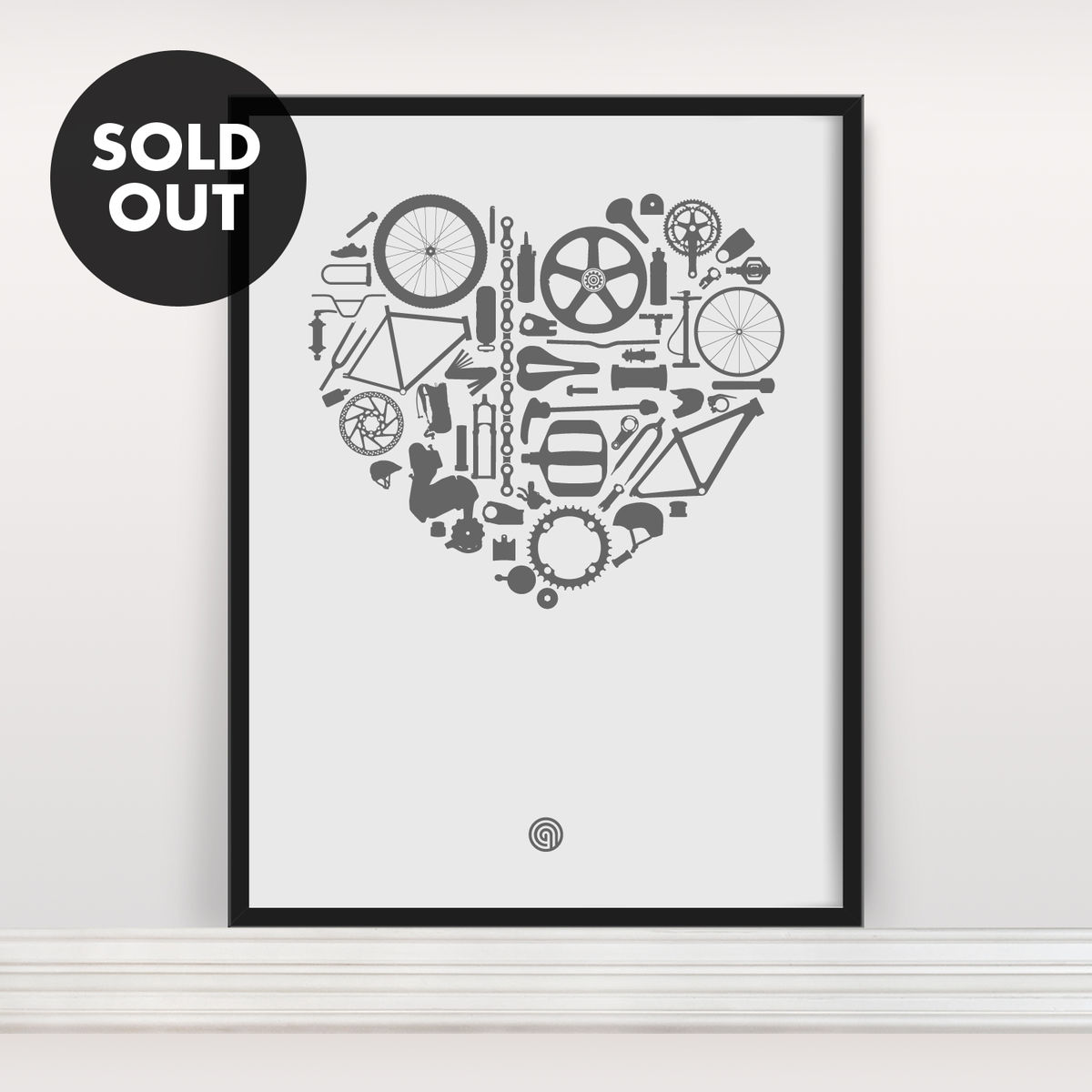 Bike Love - Screen Print Edition 3 - product image