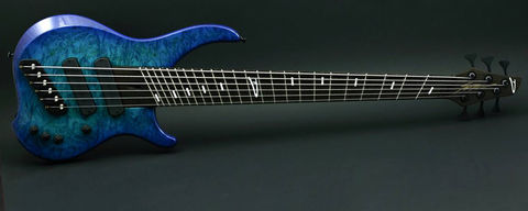 Dingwall,Afterburner,1,Blue,Burl,Maple,Afterburner 1 Blue Burl Maple
