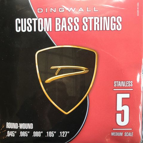 Dingwall,Stainless,Steel,Medium,Scale,5-String,Set,Dingwall Stainless Steel Medium Scale 5-String Set