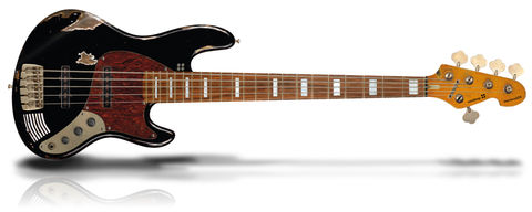 California,MarloweDK,Black,Sandberg California MarloweDK 5-string