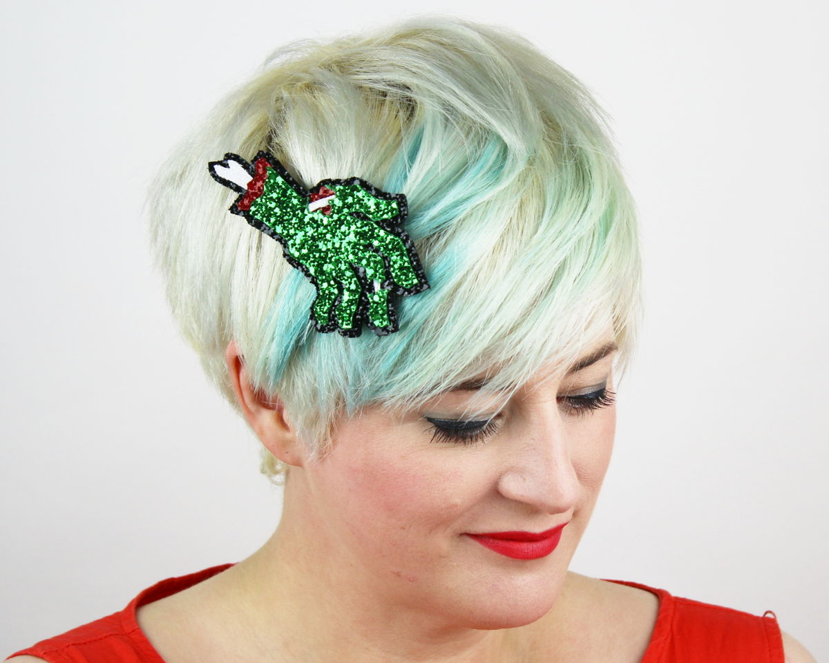 Zombie Hand Hair Clip - product images  of