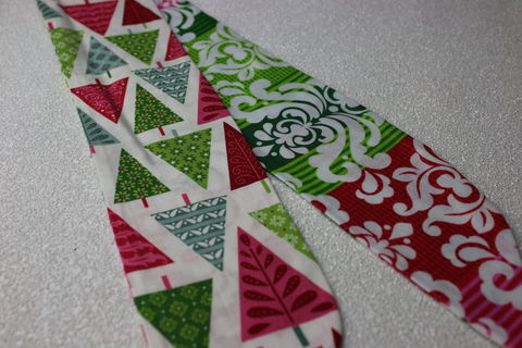 Xmas,Trees,and,Baroque,Stripes,Reversible,Wired,Headband,dolly bow headband, wired, tie hair band