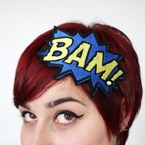 Bam,Headband,headband, comic accessories