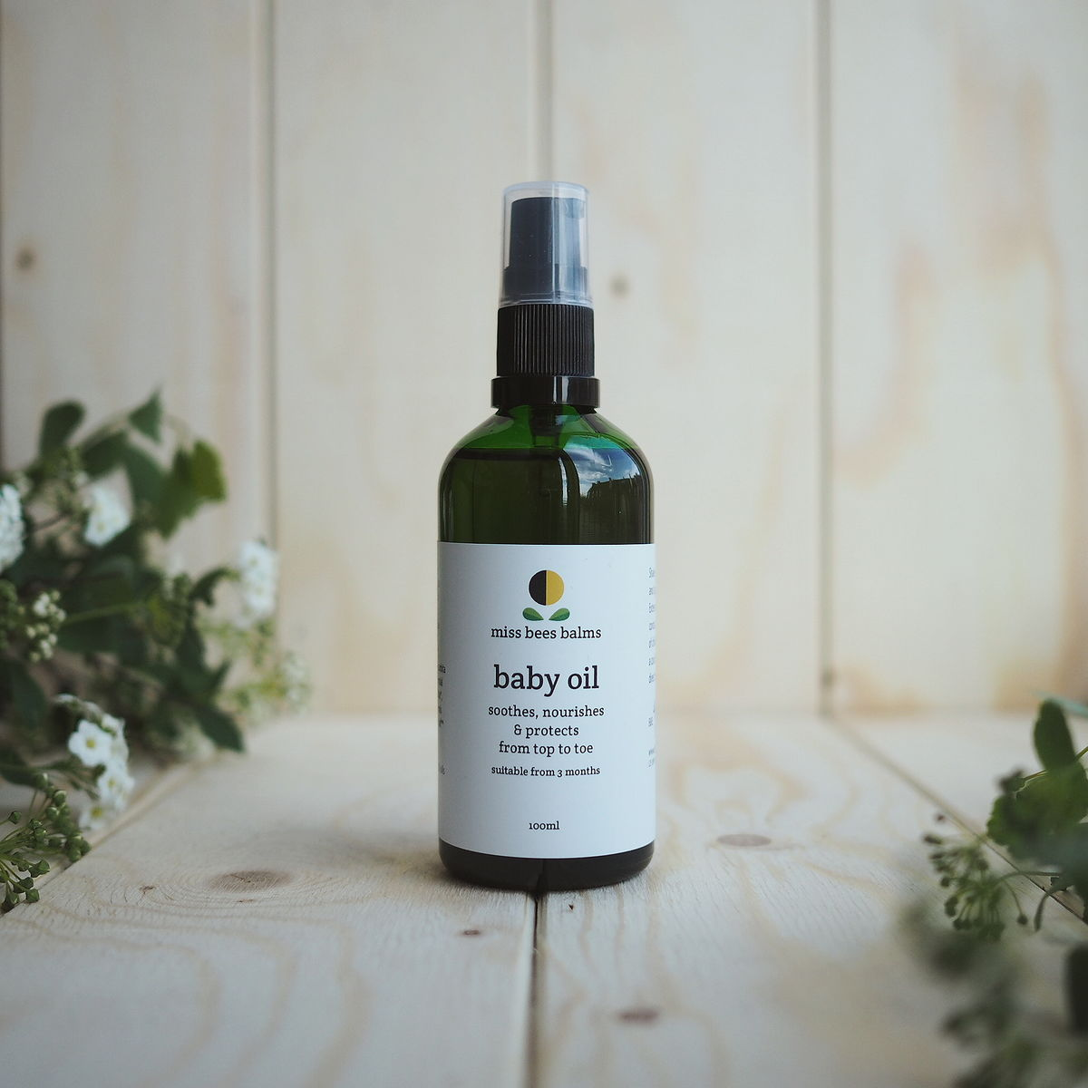 baby oil - product image