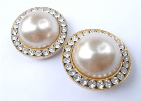 Vintage,Pearl,Earrings,Cabochon,Art,Deco,Glass,Bead,Faux,Pearls,Clip,Ons,Rhinestone,Jewelry,art_deco_pearls,art_deco_earrings,faux_pearl_earrings,white_pearl_earrings,rhinestone_earrings,art_nouveau_earrings,faux_pearl_clip_ons,oversized_pearls,vintage_pearl_earrin,pearl_cabochon_earri,cabochon_earrings,glass_pearl_earri