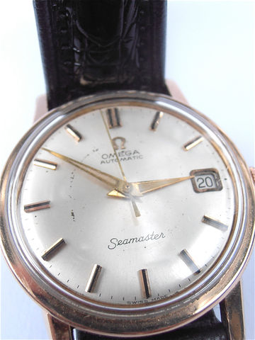 Vintage,60s,Omega,Seamaster,Watch,Genuine,Pink,Gold,Plated,Wrist,Time,Piece,Mens,Dress,Rose,Fine,Timepiece,Villacollezione,vintage jewelry watch, omega 60s seamaster mens watch, vintage genuine pink gold omega watch, omega rose plated gold wrist watch, vintage 60s omega watch, mid century omega seamaster dress fine watch, omega pink gold, omega mens watch, vintage omega watch