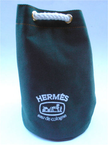 Vintage,Hermes,Bag,Tote,Pouch,Designer,Signature,Travel,Green,Canvas,Mini,Authentic,Bags_And_Purses,hermes_bag,vintage_hermes,green_canvas_bag,drawstring_bag,toiletries_bag,hermes_tote,hermes_gift_bag,signature_bag,designer_bag,compact_pouch_bag,cosmetic_makeup_kit,perfume_cologne_bag,travel_bucket_purse