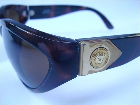 Vintage,Versace,Sunglasses,Faux,Tortoise,Medusa,Versus,90s,Designer,Brown,Frame,Glasses,Lens,vintage brown eyewear, versace mod 460, authentic versace sunglasses,  vintage gianni versace glasses, versace versus sunglasses, faux tortoise sunglass frames, versace brown sunglasses, versace designer sunglasses, brown frame glasses, vintage brown lens