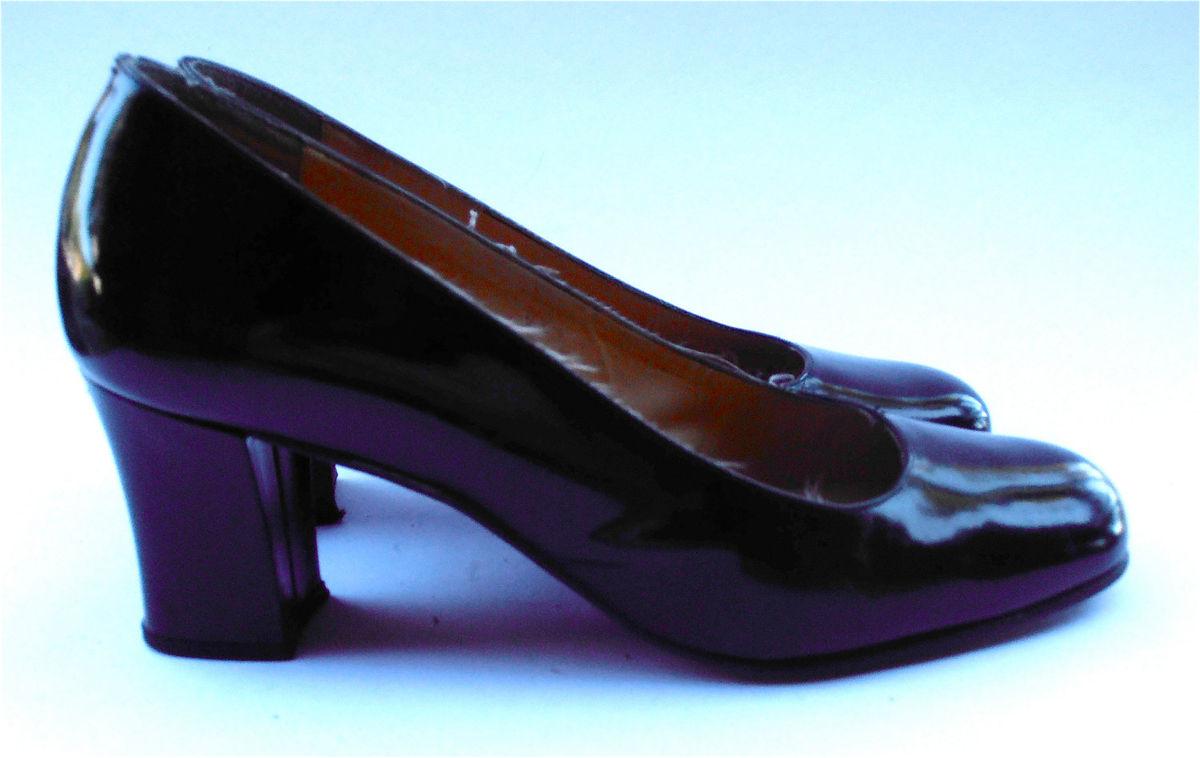 Shoes Black Patent Shoes Black