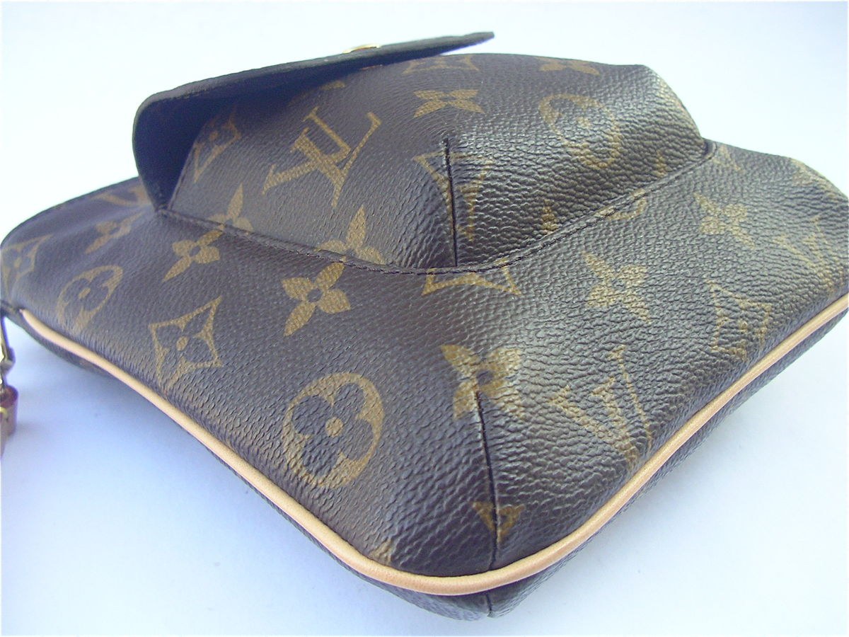Authentic Rare Louis Vuitton Partition Wristlet Monogram Leather - product images  of