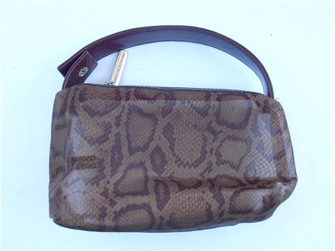 Vintage,Animal,Print,Mesh,Bag,Adrienne,Vittadini,Designer,Genuine,Leather,Pouch,Leopard,Cheetah,Brown,Transparent,Travel,Makeup,Pouchette,vintage animal print bag, vintage adrienne vittadini designer bag, vintage leopard mesh bag, vintage cheetah bag, vintage genuine brown leather top handle bag, vintage brown see through pouch, brown makeup cosmetic pouchette, villa collezione