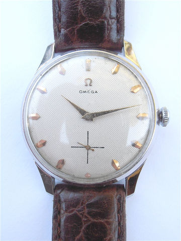 Vintage,Omega,Mens,Dress,Watch,Genuine,European,Model,Chrome,Plated,Honeycomb,Dial,Face,vintage omega mens watch, vintage omega dress watch, genuine omega watch, vintage swiss watch, european model omega wrist watch, omega chrome plated watch, omega fine time piece, omega honeycomb dial vintage watch, original 266 omega movement