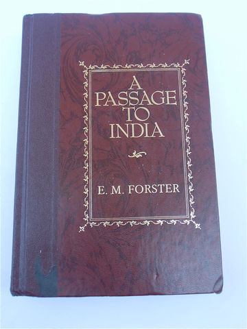 Vintage,A,Passage,of,India,Readers,Digest,Edition,E,M,Forster,Classic,Book,Collectible,Brown,Decorative,vintage a passage of india readers digest book, vintage passage of india digest edition, vintage e m forster classic book, vintage passage in india collectible hard bound book, vintage brown decorative collectable book, villa collezione