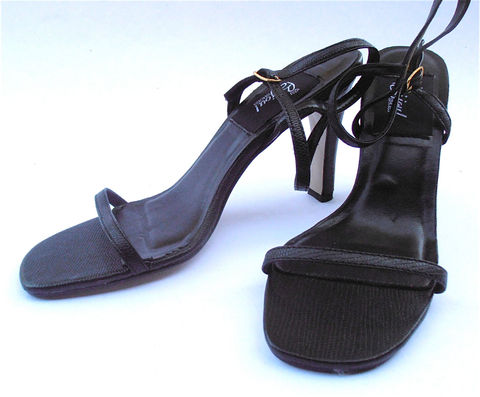 Vintage,Black,Stilettos,Strap,Shoes,High,Heels,Faux,Snakeskin,Leather,Ladies,Size,7,vintage black strappy high heels, vintage faux snakeskin black leather shoes, vintage black strap shoes, black ladies shoe size 7, vintage black leather stilettos, vintage bijoux brand strappy shoes, vintage sexy black leather high heel sandals