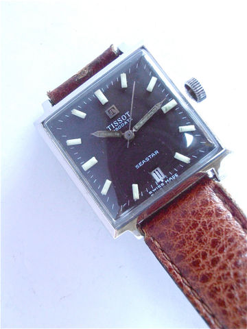 Vintage,Tissot,Visodate,Seastar,Manual,Wind,Stainless,Steel,Mens,Sporty,Watch,70s,Square,Luminous,Wrist,European,Model,vintage tissot mens date watch, vintage tissot visodate watch, tissot visodate seastar watch, tissot manual wind watch, tissot stainless steel watch, tissot mens sporty square watch, vintage 70s tissot, tissot sqaure watch, tissot luminous dial watch