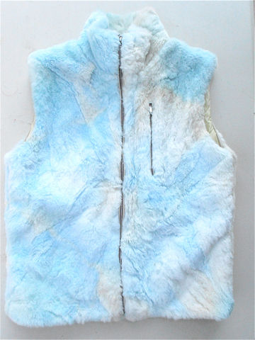 Vintage,Faux,Fur,White,Blue,Vest,Tie,Dye,Zippered,Jet,Set,Brand,Clothing,Italian,vintage faux fur white blue blue vest, blue tie dye vest, blue zippered vest, vintage jet set brand clothing, vintage italian made faux fur, vintage white blue ski vest, villa collezione, villacollezione, vintage fancy windbreaker sleeveless jacket