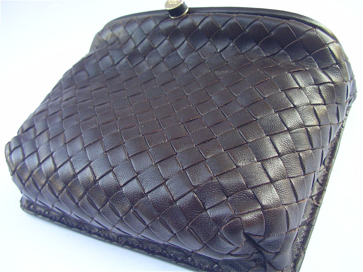 Bottega Veneta Intrecciato Rare Authentic Waist Pouch Pre Owned - product images  of
