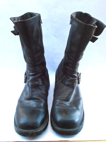 Preowned,Sciapo,Italian,Black,Leather,Mens,Boots,Riding,Motorcycle,Motorbike,Rider,U.S.,Shoe,Size,9,Punk,Gothic,Rubber,Buckle,Engineer,EU,43,preowned sciapo italian black leather mens boots, sciapo engineer black leather mens boots, motorbike mens riding boots shoe size 9, black leather punk mens leather boots, italian men leather boots shoe size eu 43, italian gothic mens black leather boots