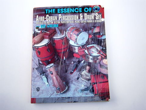 Vintage,Percussion,Instrument,Book,Ed,Uribe,Essence,Of,Afro,Drum,Set,Music,Sheets,CDs,Latin,Piano,Guitar,Horns,Strings,Conga,Mambo,vintage ed uribe afro cuban percussion book, horn maracas conga tumbao learning book, percussive instrument book, ed uribe latin percussion learn how to play book, latin rhythm music sheets, guitar conga piano playing book, conga book, latin drum set book