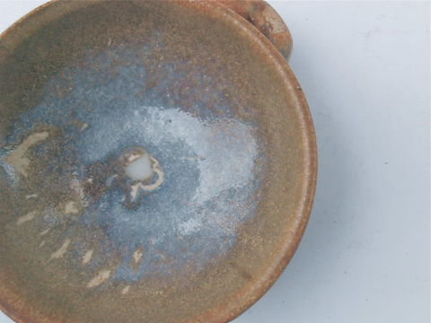 Vintage,Brown,Saucer,Pottery,Terracotta,Blue,Glazed,Ceramic,Stoneware,Miniature,Cup,Earthenware,Mini,Relish,Condiment,Southwestern,Handle,vintage brown saucer, brown pottery saucer, mini brown relish mamezara, mini ceramic bowl, brown blue earthenware cup, brown blue stoneware bowl, mini relish bowl, miniature brown cup, southwestern pottery ceramic, cornflower blue cup, terracotta mini cup