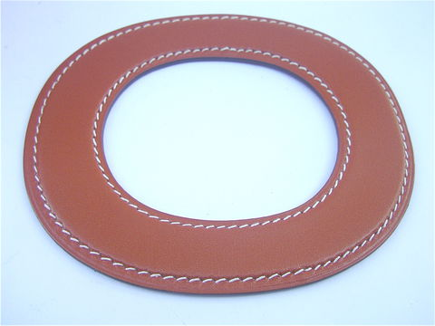Authentic,Rare,Hermes,Leather,Flat,Disc,Bracelet,Pre,Owned,hermes leather bracelet, hermes accessories, rare hermes bracelet, authentic hermes bracelet, hermes leather bangle, hermes flat disc bracelet, designer bracelet, signature bracelet, hermes leather wrap bracelet, orange leather bracelet, villa collezione