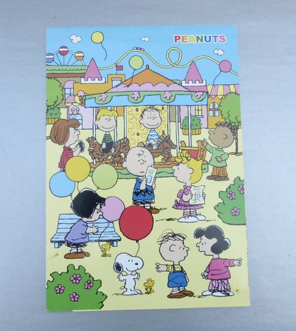 Peanuts,Stationery,Notepad,Paper,Notes,Sheets,Pad,Gallery,Collectible,Sanrio,Smiles,Brand,Collection,NOS,United,Feature,Syndicated,Japan,peanuts stationery, peanuts notepad, sanrio sweetclover brand, kawaii japanese stationery, united feature syndicate, peanuts paper sheets, rare peanuts collection, sanrio collection