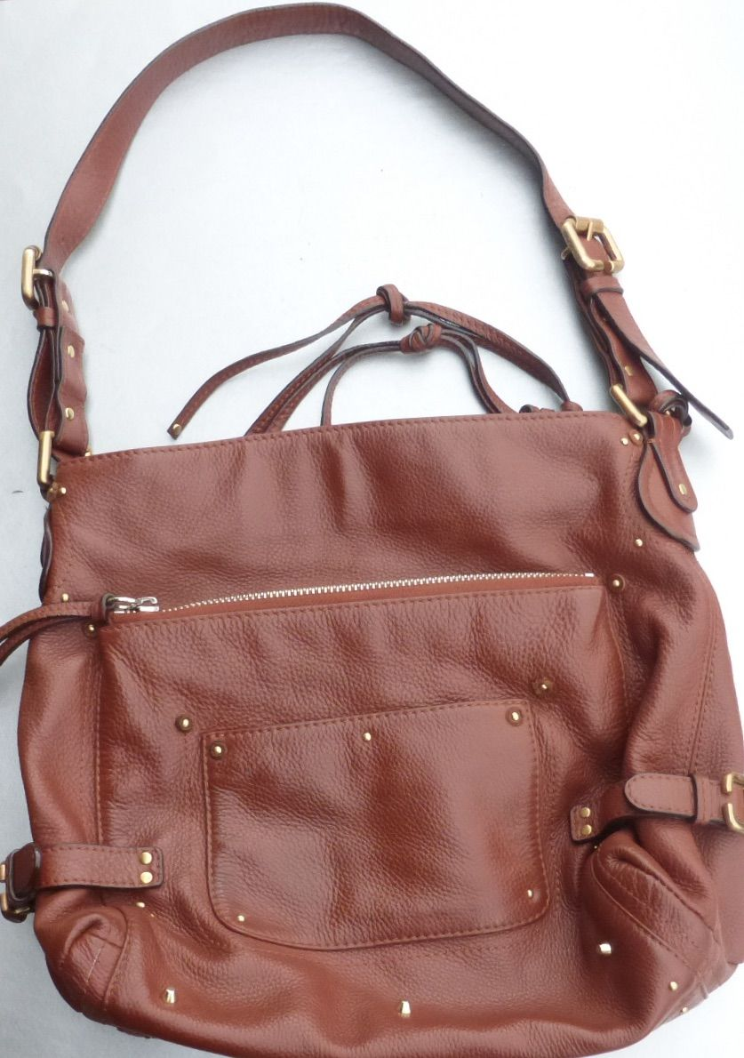 Authentic Chloe Paddington Shoulder Bag Soft Brown Burnt Amber Rust Gold 02 - 06 - 53 - product images  of