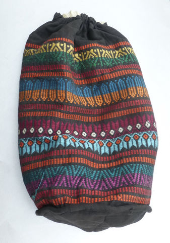 Vintage,Multicolored,Ethnic,Tribal,Bucket,Bag,Backpack,Southwestern,Knapsack,Embroidery,Soft,Sided,Drawstring,Pattern,Textured,Cloth,Fabric,Handmade,Shoulder,Duffel,Woven,multicolor ethnic textured backpack bag, peruvian ethnic handmade knapsack, handmade multicolored tribal drawstring backpack, textured southwestern bag, tribal ethnic pattern drawstring bag, ethnic tribal bucket drawstring backpack, mexican ethnic woven d