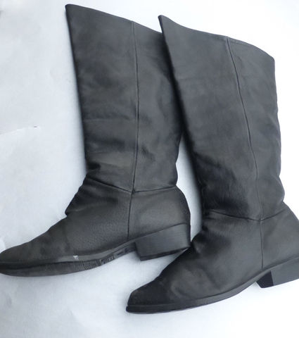 Basic,Editions,Knee,High,Black,Faux,Leather,Boots,Ladies,Size,10,Womens,69910,F98,-,9,6340,/,1000,basic editions black leather boots ladies size 10,  knee high black leather boots womens size 10, basic editions tall black leather booties, pebble grain black leather boots, basic editions 69910 F98 9, basic editions style boots 6340 1000