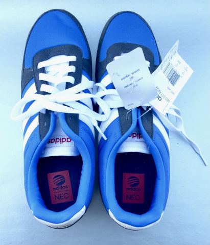 Adidas Neo Label Men's Sneakers Rubber Shoes Royal Blue City Racer ...