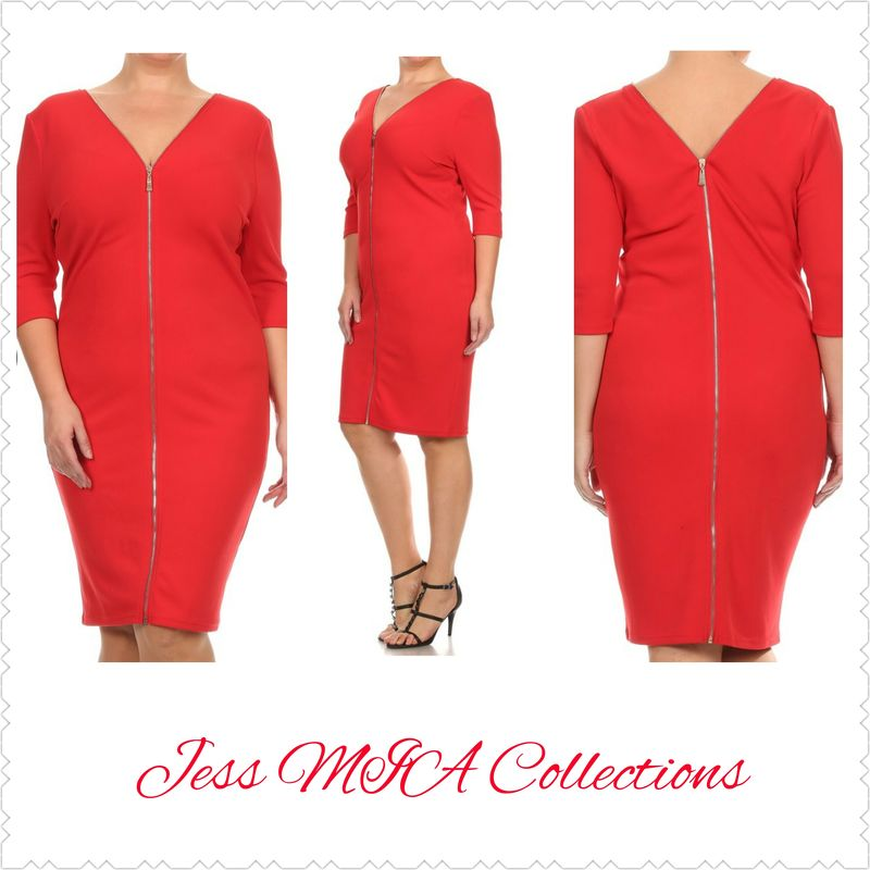 The Red Bombshell Dress - product image