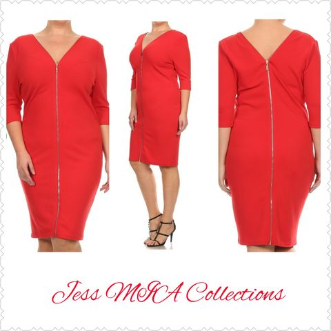 The,Red,Bombshell,Dress,Dresses, womens fashion, online shopping