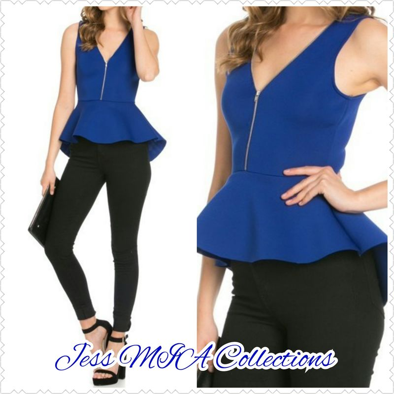 The Royal Peplum Top - product images  of