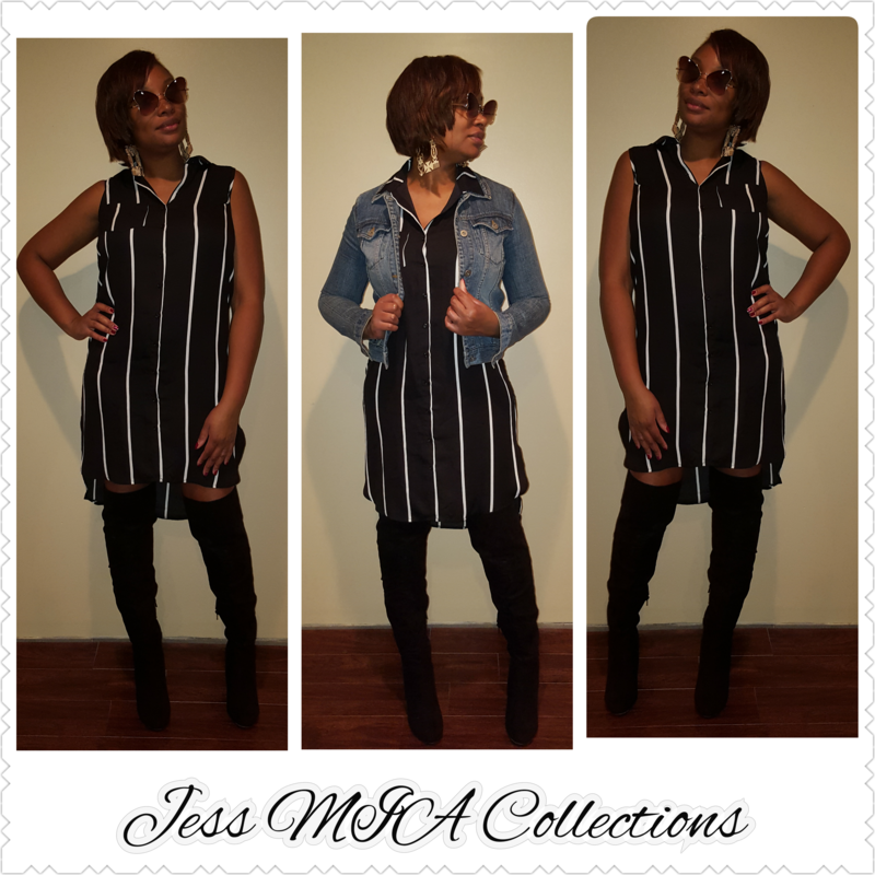 The Striped T-Shirt Dress - product image