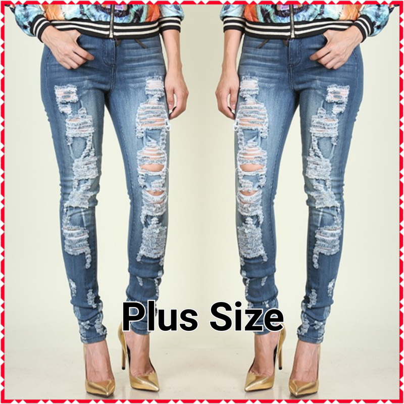 The Perfect Distressed Jeans - product image