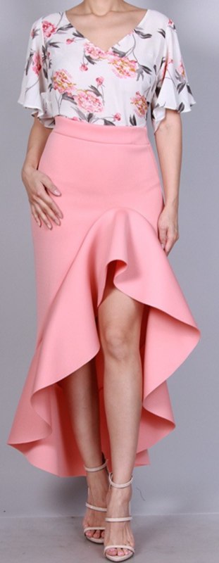 The Alona Ruffle Skirt - product images  of
