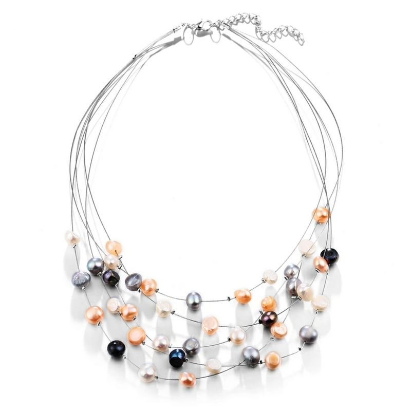 The Frosted Pearl Necklace - product images  of
