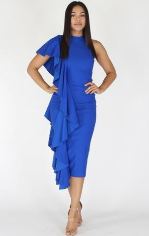 The,Posh,Ruffle,Dress,posh, ruffle, St Louis boutique, Jess MIA Collections