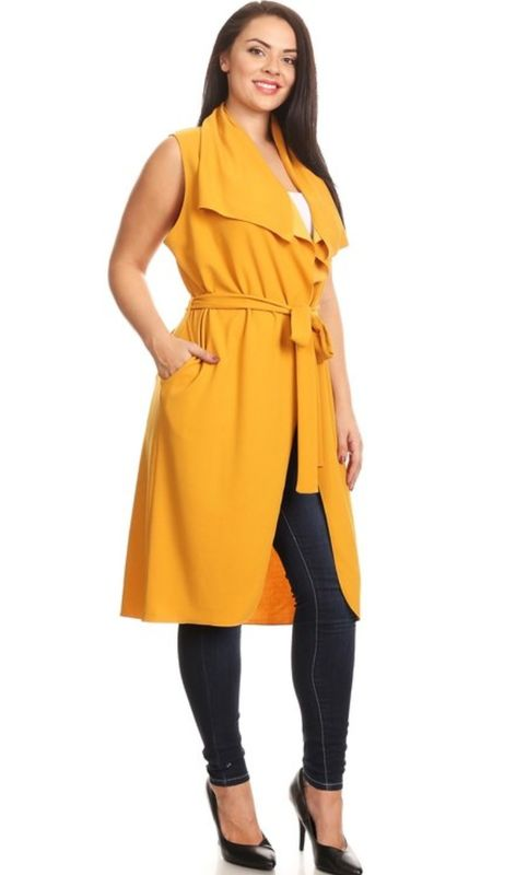 The Onya Sleeveless Jacket  - product images  of