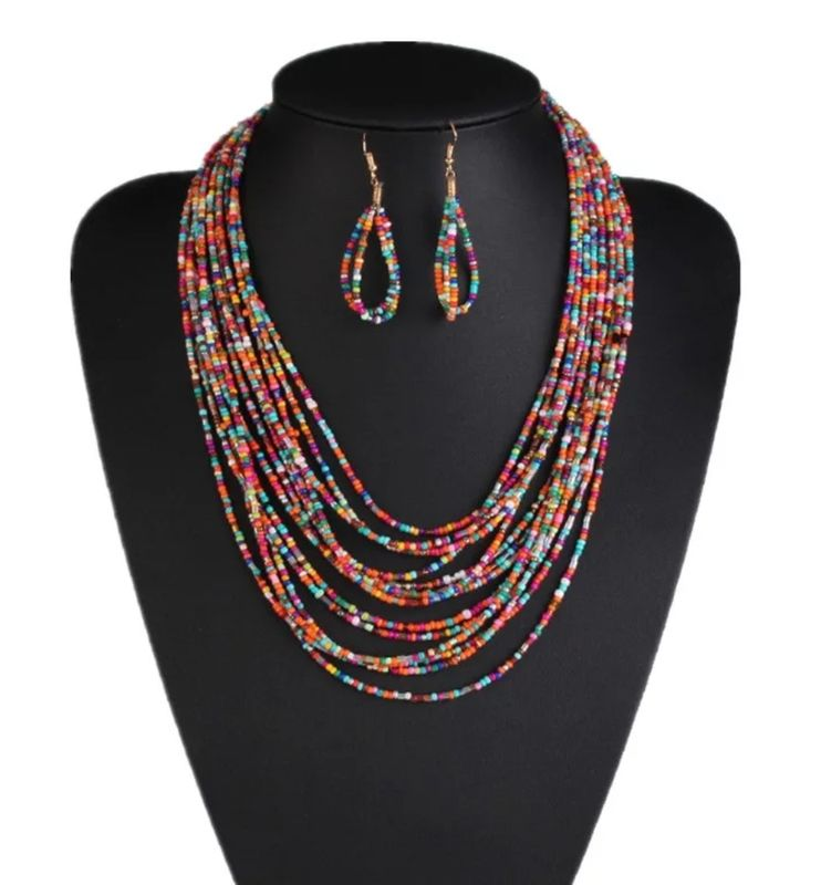 The Analise Necklace/Earring Set - product image