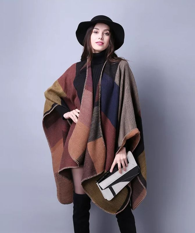 New Arrival! The Multi-Colored Poncho - product images  of