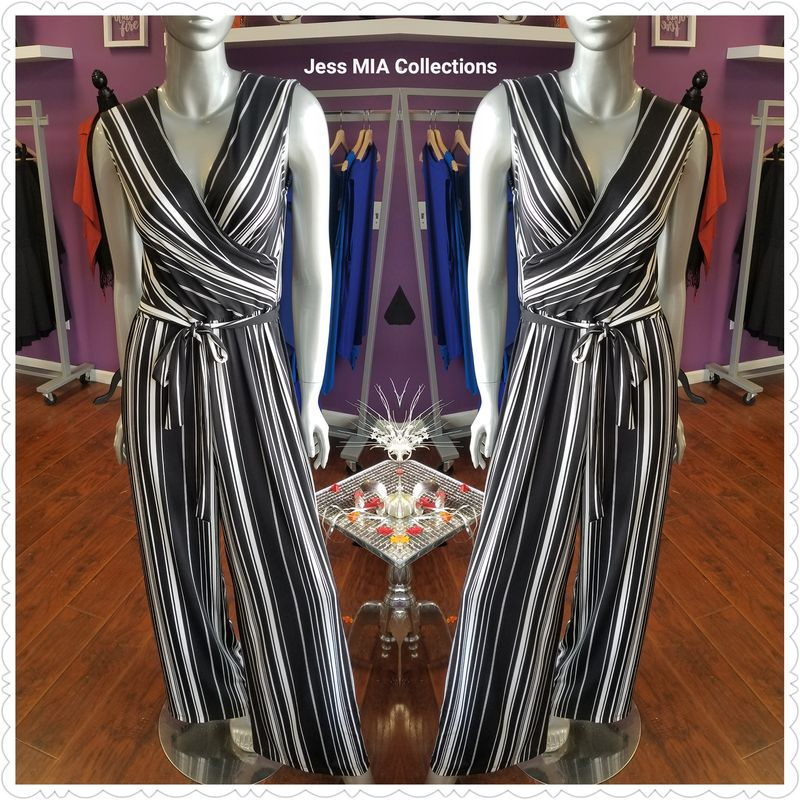 The Striped Jumpsuit - product image