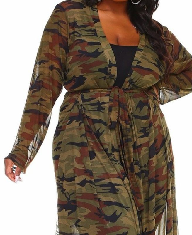 New Arrival! The Camo Duster - product images  of
