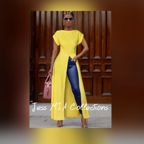 New,Arrival!,The,Electric,Top, yellow tops, high low top