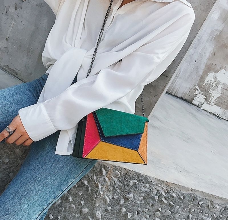 New Arrival! The Colorblock Clutch  - product images  of