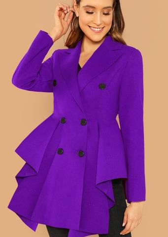 New,Arrival!,The,Royal,Peplum,Coat, peplum coat, st louis boutique