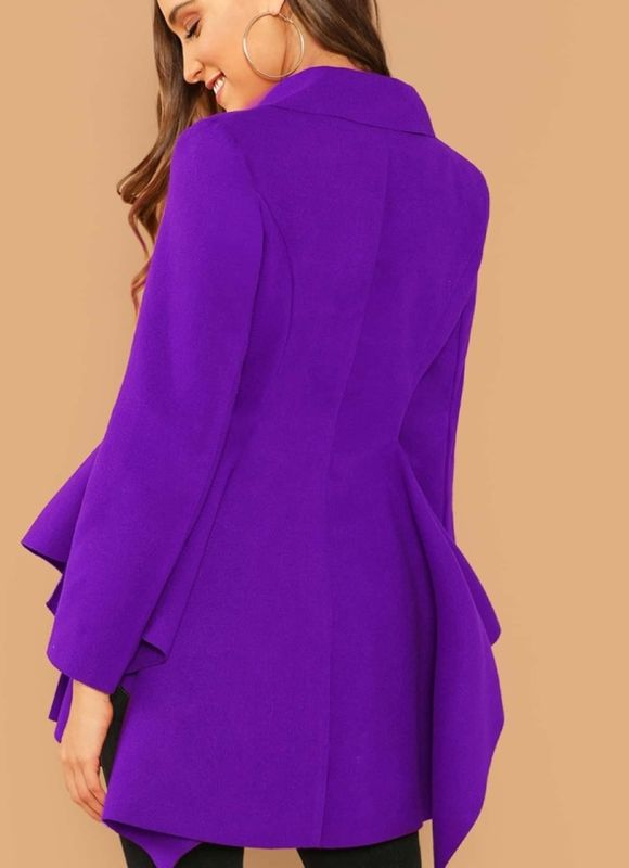 New Arrival! The Royal Peplum Coat  - product images  of