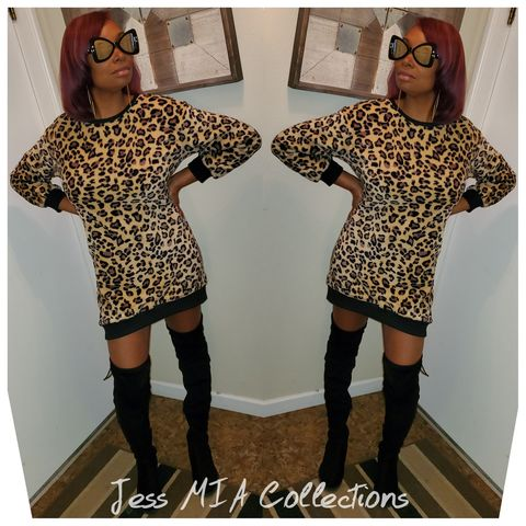 New,Arrival!,The,Cheetah,Dress